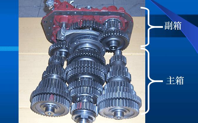 法士特变速箱维修工具手册—法士特双中间轴变速器