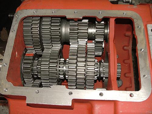 法士特变速箱维修工具手册 法士特系列变速器结构与原理图片