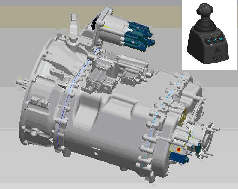 电控气动执行元件等组成图片