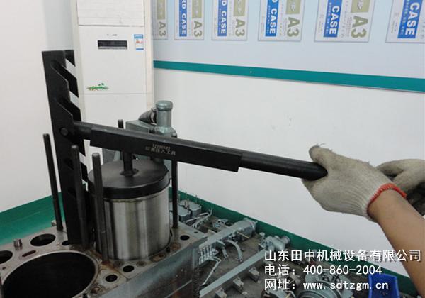 不用费这力气砸压缸套 田中工具告诉你怎样轻松使用缸套压入工具压缸套