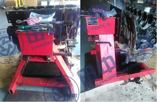 河北唐山地区放心采购重型发动机翻转架,只选hj8828皇家赌场