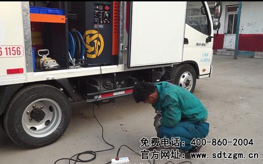 选购卡车养护抢修服务车要注意什么 山东田中设备告诉您
