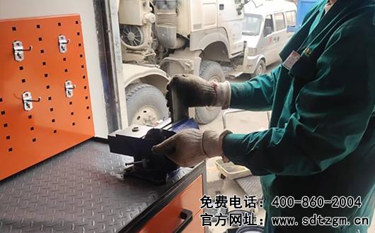 移动式上门保养服务车能完成哪些快修业务,山东田中设备给您解析