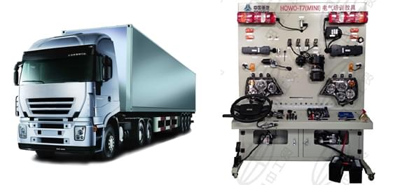 皇家注册电气系统培训教学展具