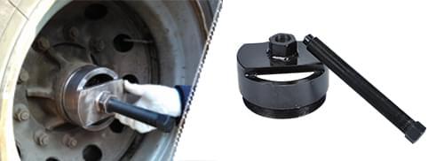 轮毂轴头拆卸工具