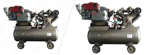 智能型柴动空压机
