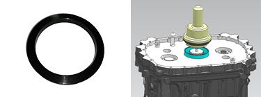 二轴后轴承外圈安装工具